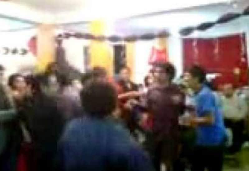 ¡Qué bueno estuvo el Pachangón! Fiesta termina en tremenda golpiza