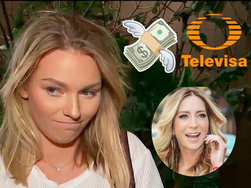 ¡En la torre! Irina Baeva le quitarían exclusividad de Televisa por pleito con Geraldine Bazán