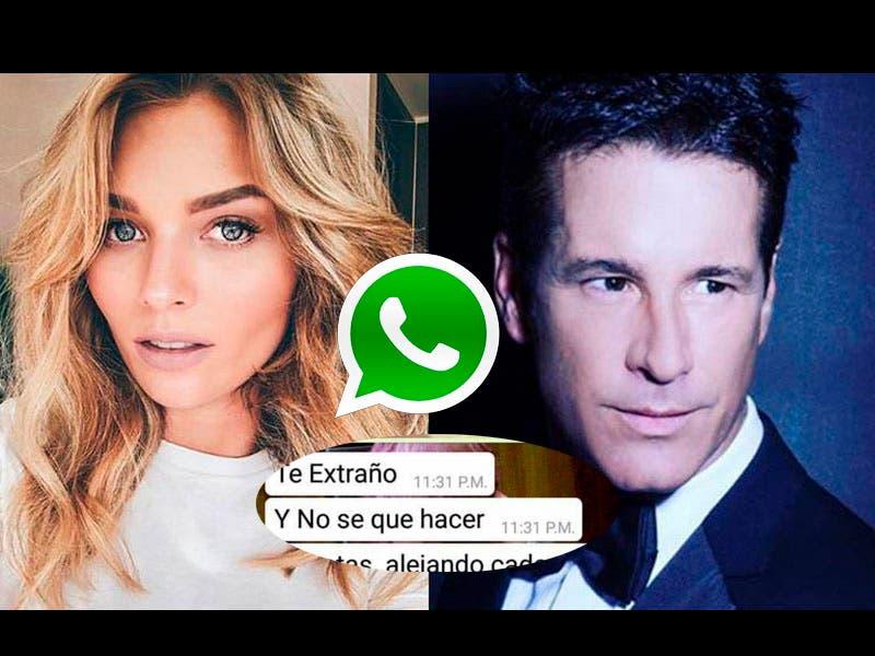 Fotos: Irina Baeva le revelan mensajes de Whatsapp a Fernando Carrillo, posible infidelidad a Gabriel Soto