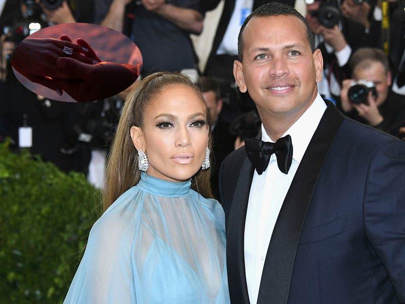 Foto: JLO Jennifer López acepta casarse con el ex beisbolista Alex Rodríguez