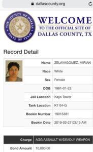 #LadyFrijoles arrestada