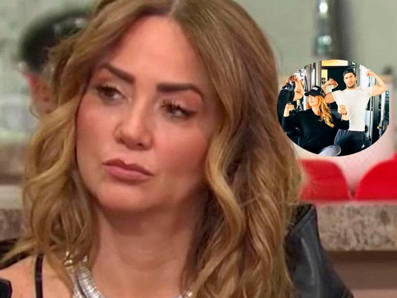 Vídeo: Andrea Legarreta confiesa si piensa demandar a la revista sobre la foto con instructor de gym
