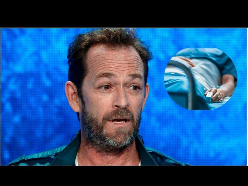 Luke Perry de Beverly Hills 90210 está estable pero sedado por el derrame cerebral
