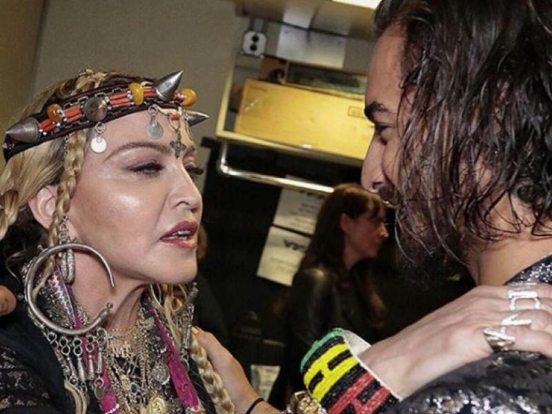 Maluma prepara colaboración con Madonna