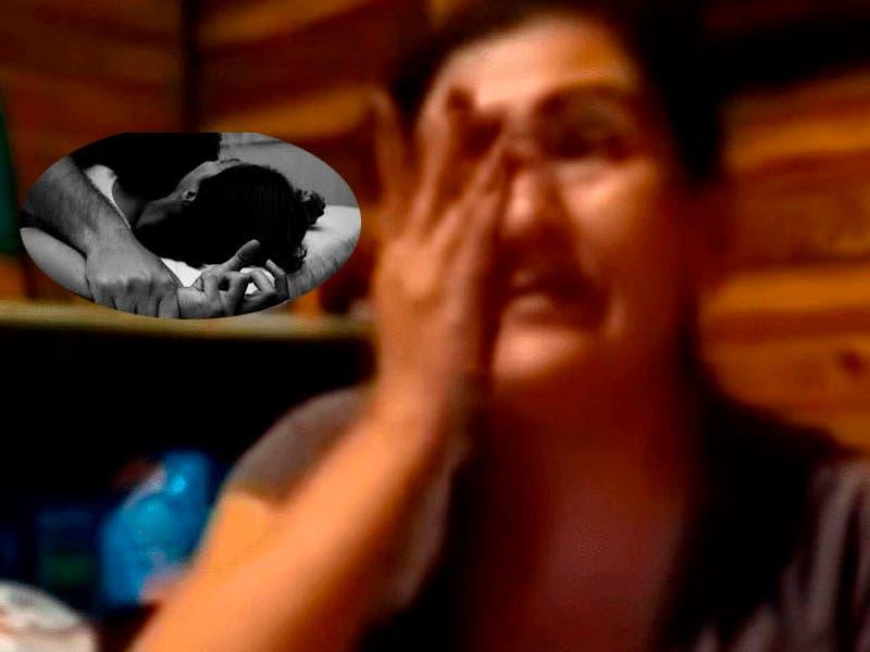 Vídeo: Mamá fue violada por su hijo drogadicto y narra lo sucedido con lágrimas en los ojos