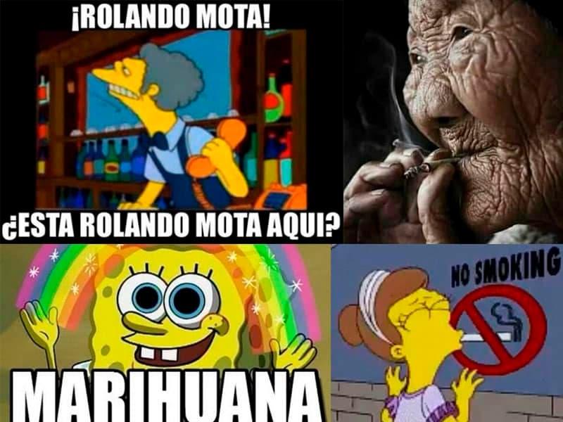 """Memes de burla sobre """"la marihuana es sagrada"""" que viralizaron las redes sociales"""