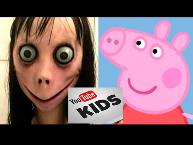 Vídeo: Momo sale en Peppa Pig de Youtube Kids invitando a los niños a suicidarse