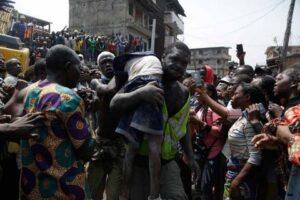 Primaria en Nigeria se derrumba