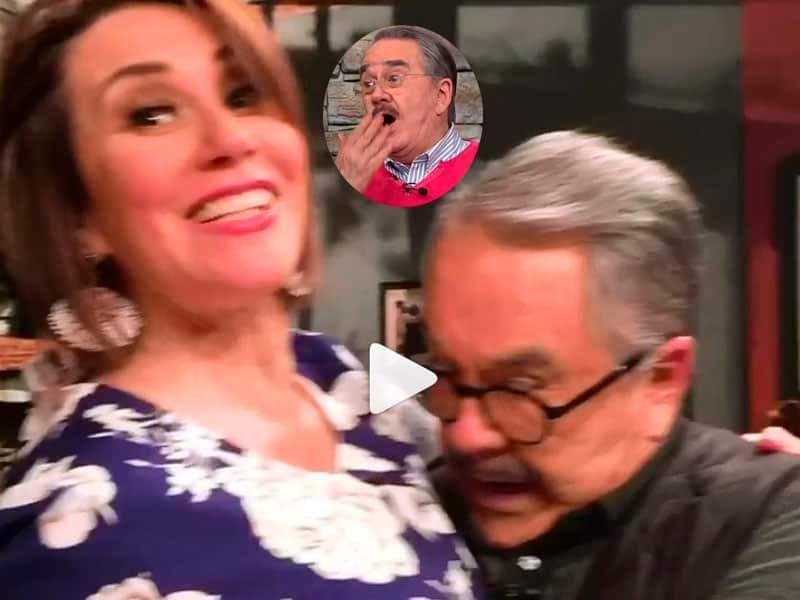 Vídeo: Pati Chapoy cacha a Pedro Sola viéndole la delantera a Mónica Castañeda