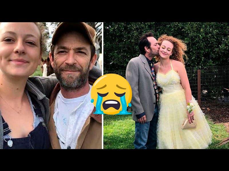 Foto: Hija de Luke Perry se despide de su padre con conmovedor mensaje en Instagram