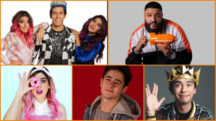"Youtubers mexicanos ""Los Polinesios"", nominados a los Kids Choice Awards 2019"