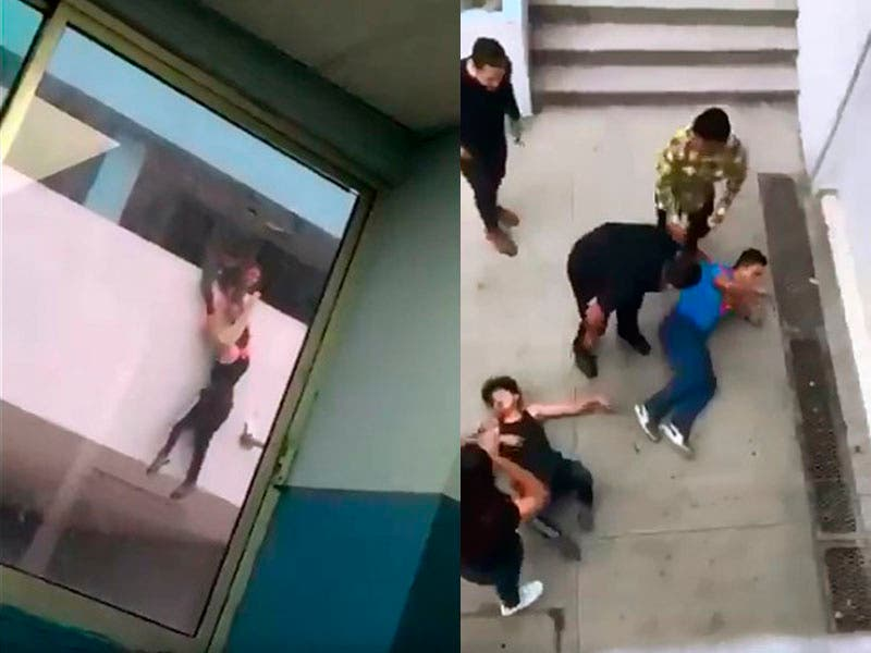 Vídeo: Estudiante de Preparatoria se tira de un tercer piso en Monterrey