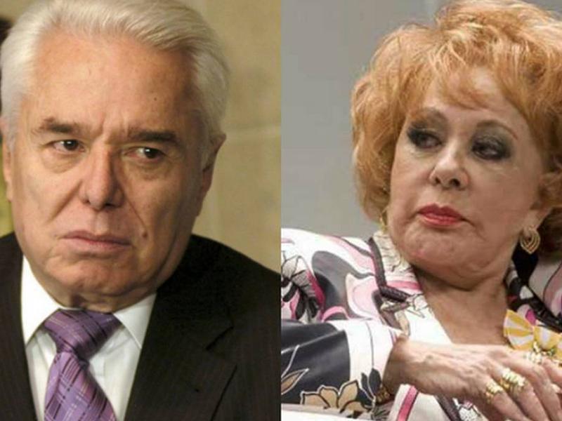 Silvia Pinal y Enrique Guzmán ¡Reconciliados!