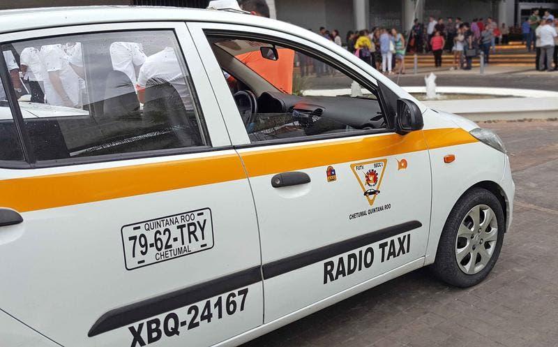 Causan baja nueve taxistas en Chetumal