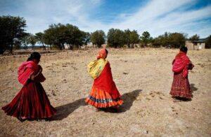Mujeres tarahumaras