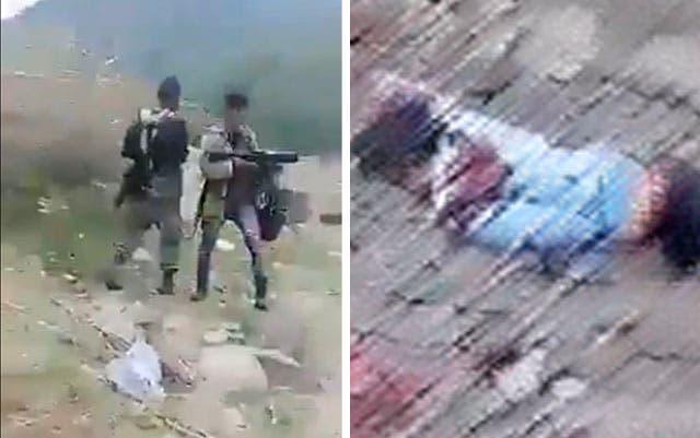 ¡Indignante! Circulan imágenes de sicarios celebrando matanza junto a cadáveres del cartel rival