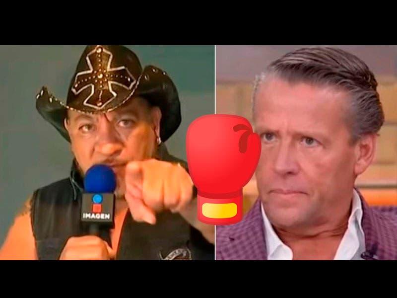 Vídeo: Alfredo Adame reta a pleito al cazafantasmas Carlos Trejo, le contesta que lo va a dejar paralítico