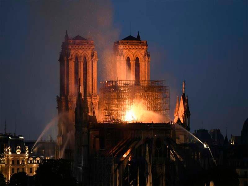 Reconstruirán la Catedral de Notre- Dame