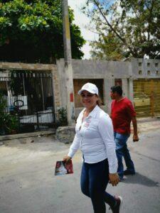 Reyna Durán atiende múltiples demandas ciudadanas en la 219