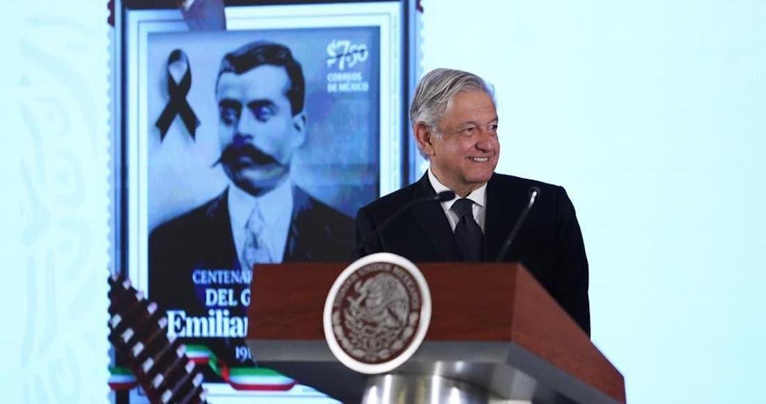 AMLO: ¡Zapata vive!; en centenario del crimen del Caudillo del Sur