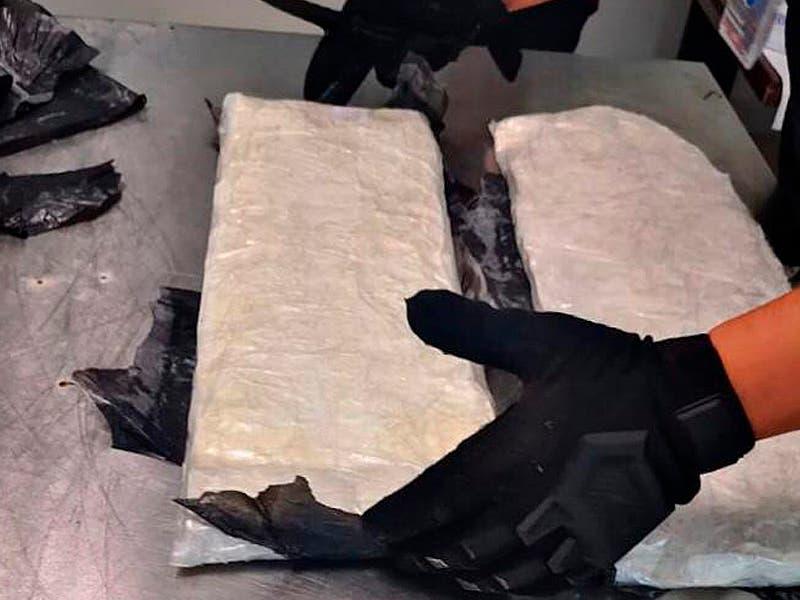 Aseguran paquetes con drogas en el Aeropuerto de Cancún