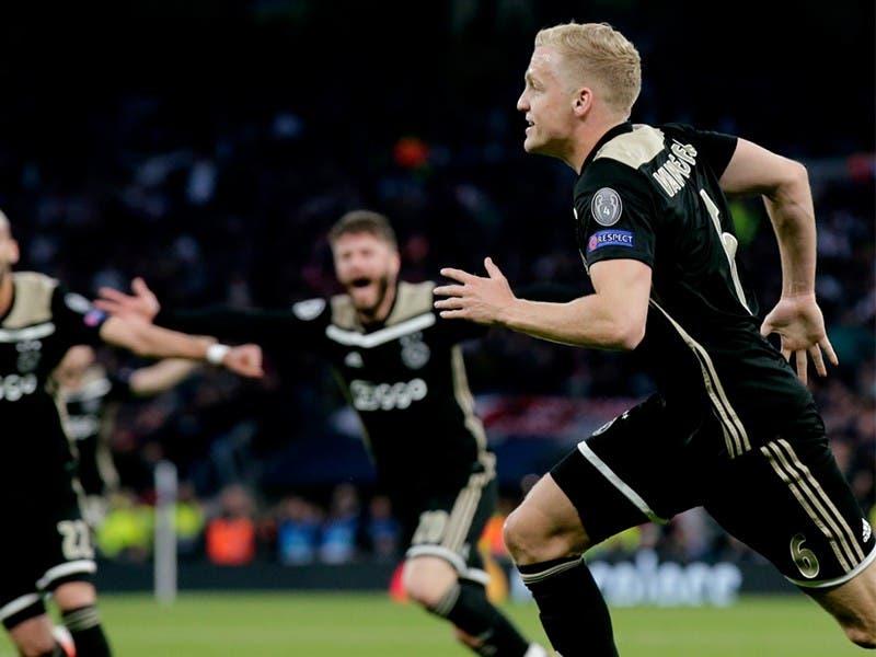Champions 2019: Ajax derrota a Tottenham en Semifinales Ida
