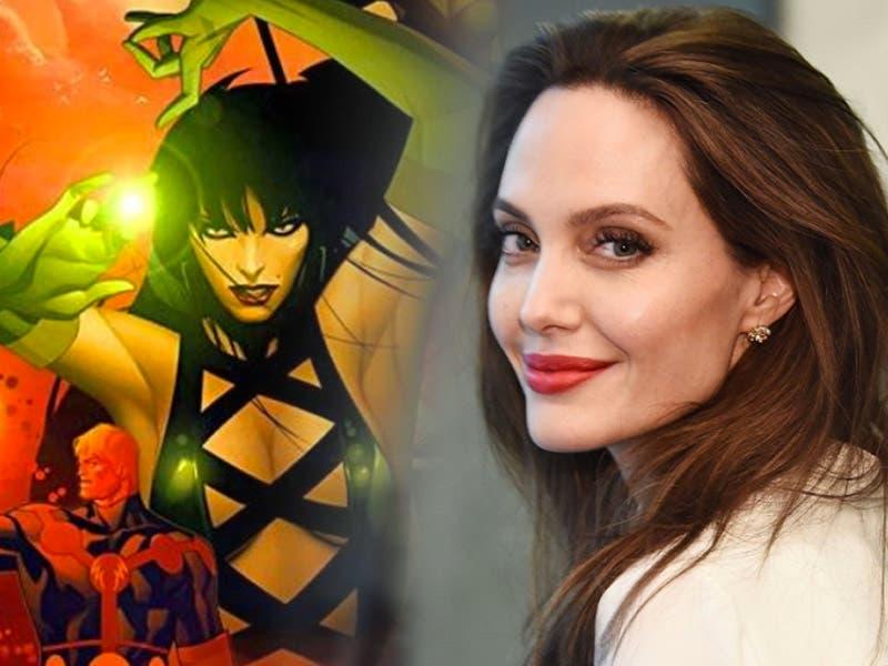 """Angelina Jolie será Sersi en """"The Eternals"""" la nueva película de Marvel"""