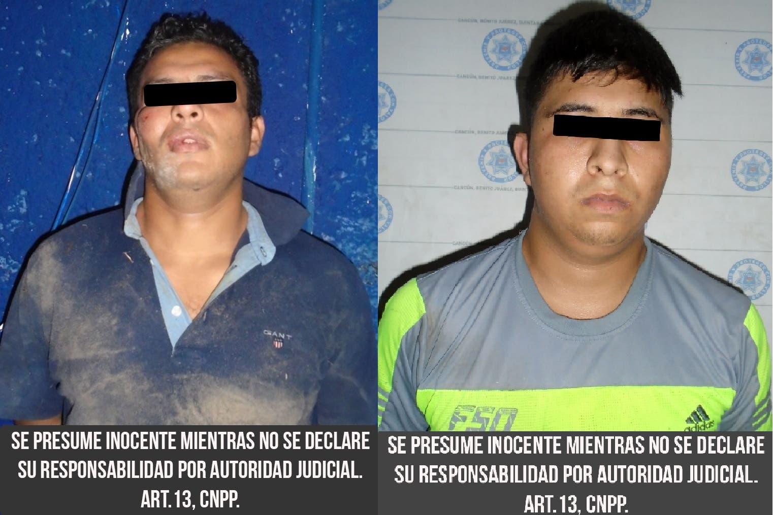 Atrapan a 2 sicarios en flagrancia; no pudieron rematar a una persona