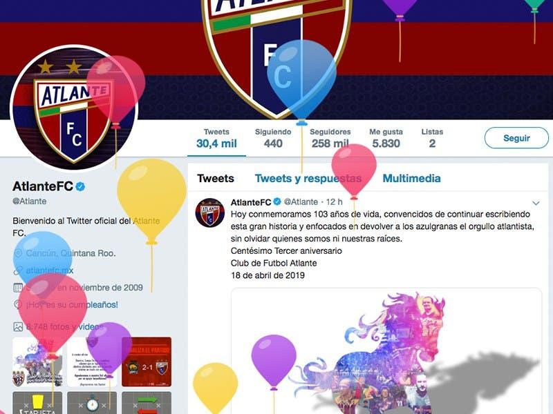 Ascenso MX: Atlante recibe felicitaciones por sus 103 años