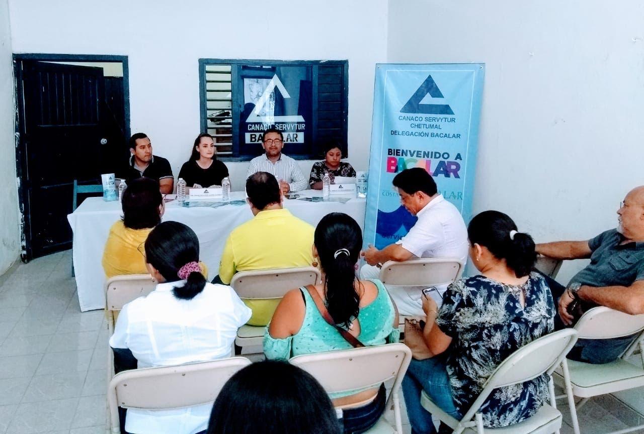 Canaco Servytur Chetumal promueve el turismo en el municipio de Bacalar