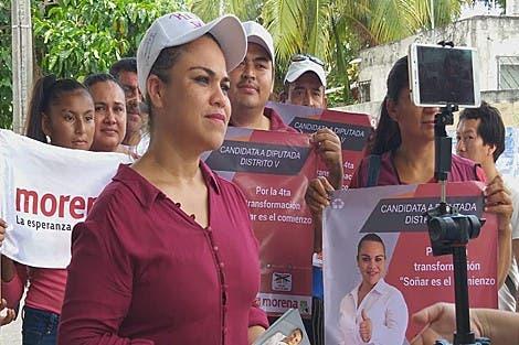 Reyna Durán reitera su compromiso por reforzar la seguridad