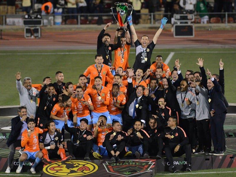 América es Campeón de la Copa MX Clausura 2019