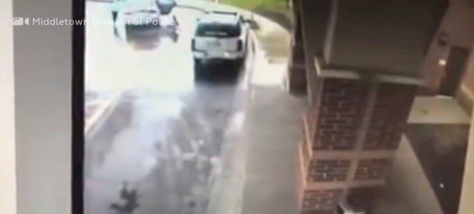 VÍDEO: Niño salva a su hermana de un secuestro