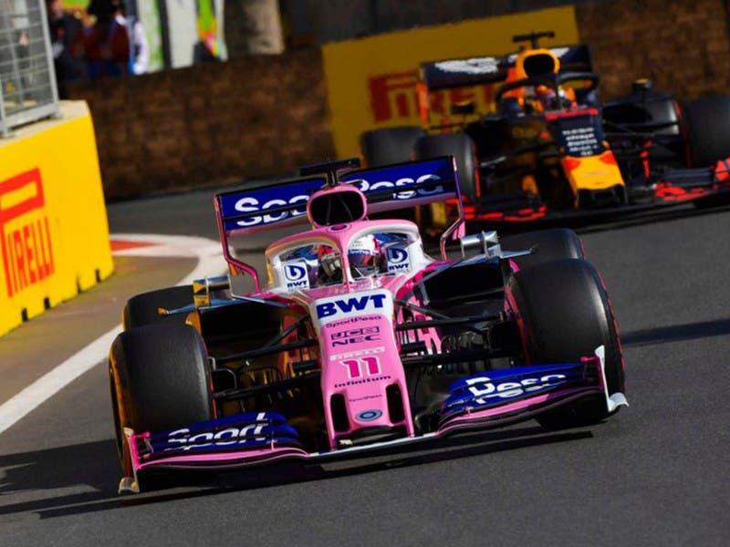 F1: Sergio 'Checo' Pérez culmina sexto en Gran Premio de Azerbaiyán
