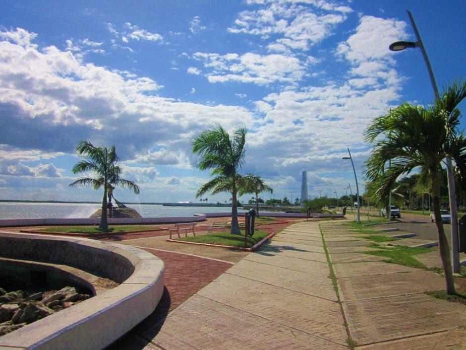 Boulevard bahía de Chetumal