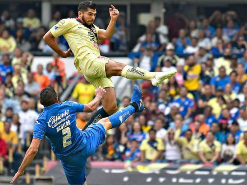 Liga MX: América y Cruz Azul empatan en 'Clásico Joven' Clausura 2019
