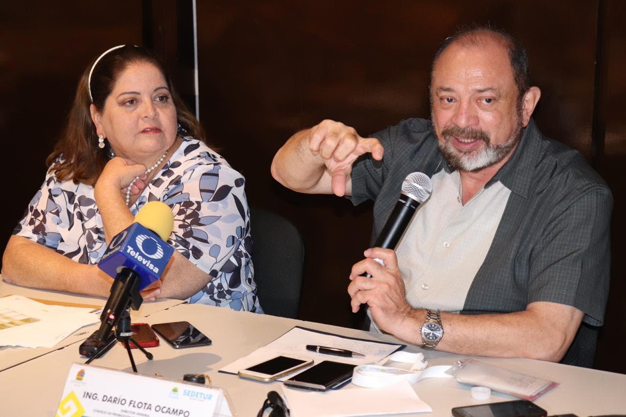 Secretaria de Turismo estatal Marisol Vanegas Pérez