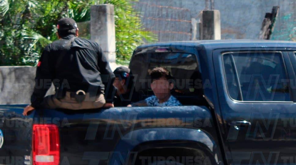 Detenido tras el cateo que se realizó en Cozumel