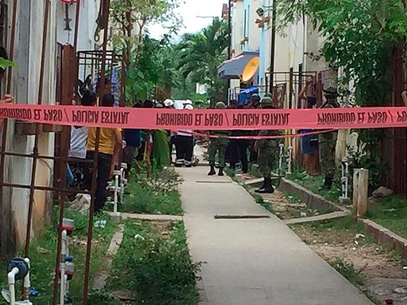 Dos muertos y dos lesionados en Villas Otoch Paraíso