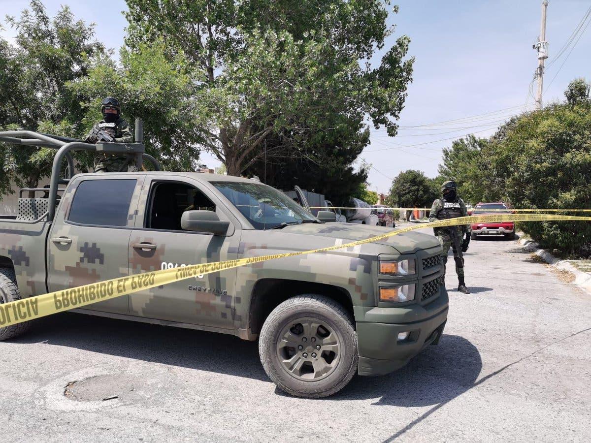 Enfrentamiento en Saltillo deja 9 muertos y 2 policías heridos