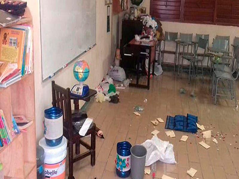 Robos y vandalismo,problemas que enfrentan las escuelas en vacaciones