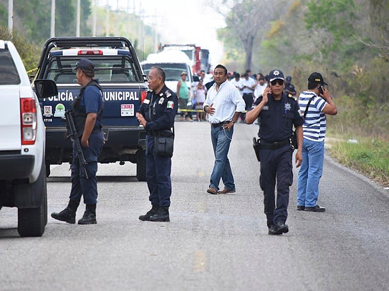 Asesinan a tres personas en Felipe Carrillo Puerto