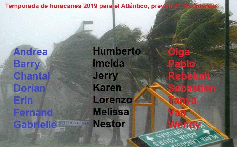 Prevén 21 ciclones para el Caribe mexicano