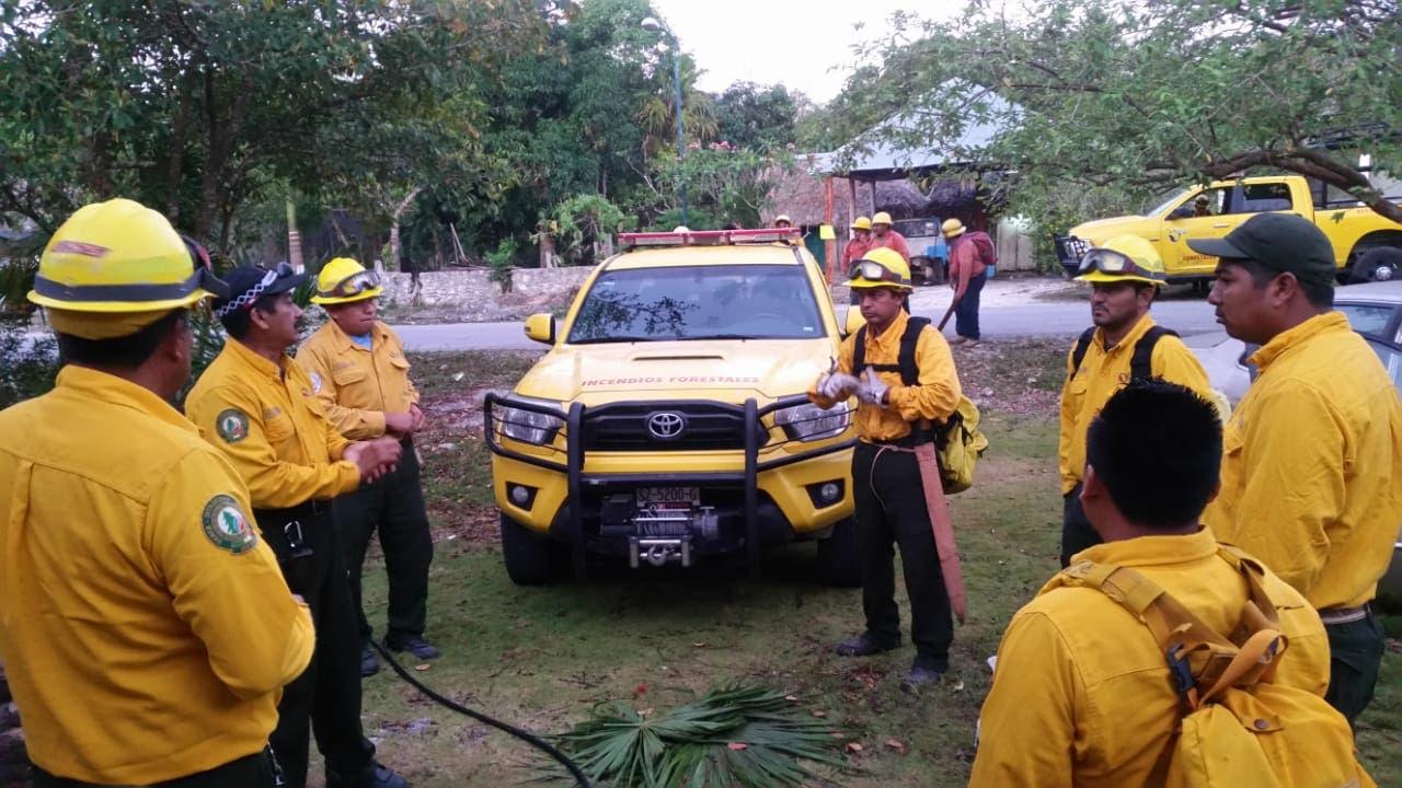 La temporada crítica de incendios forestales, se intensifica durante los meses de marzo, abril y mayo.