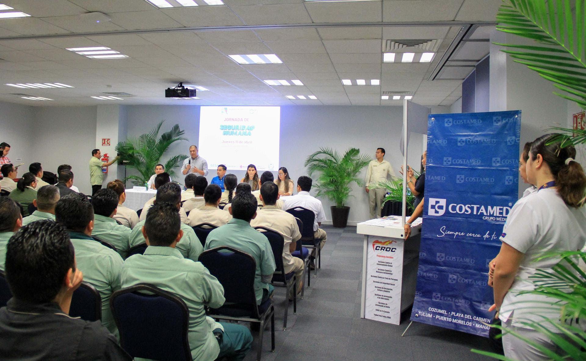 Costamed Grupo Médico participó en la primera etapa de las Jornadas de Seguridad Humana