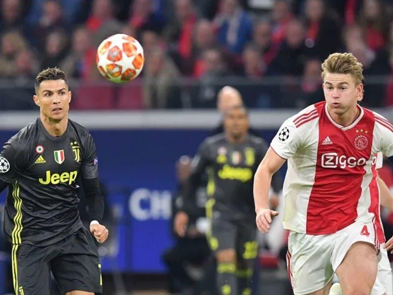Champions 2019: Ajax y Juve empatan en Cuartos de Ida