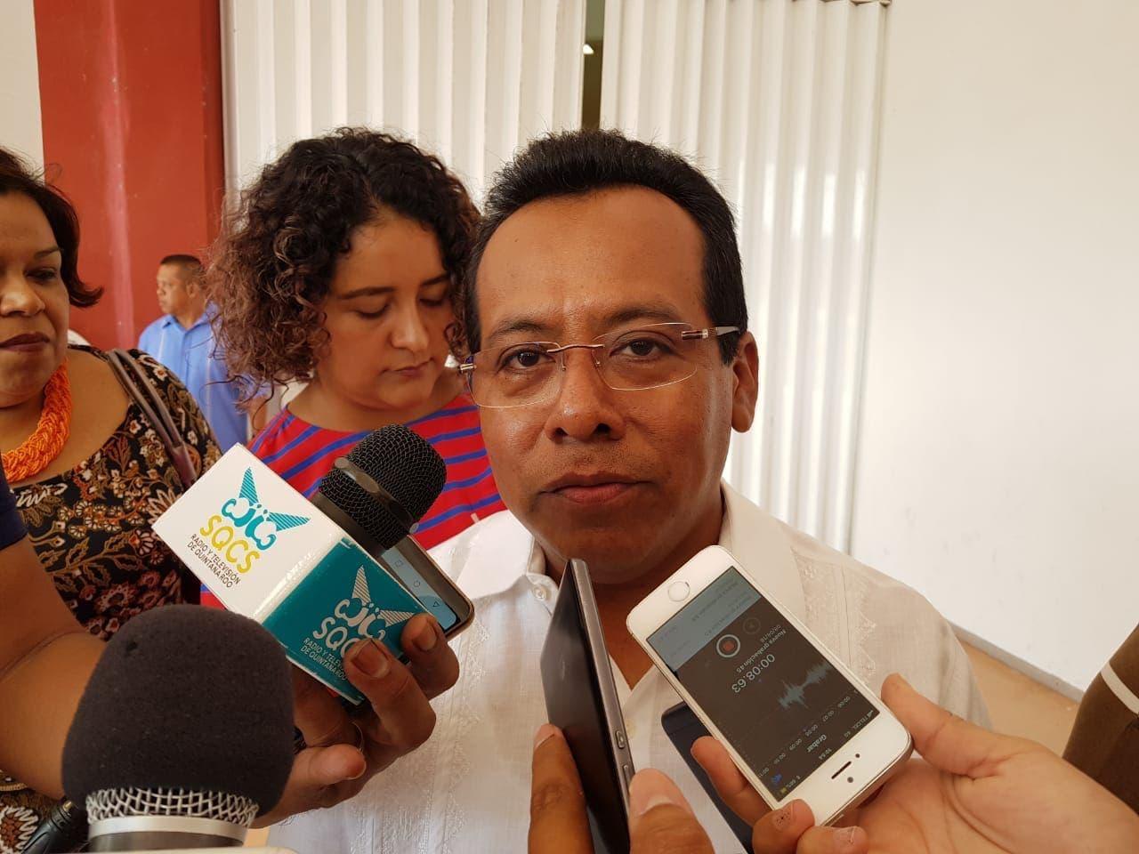 Manuel Palacios Herrera, presidente de la Auditoría Superior del Estado de Quintana Roo (Aseqroo)