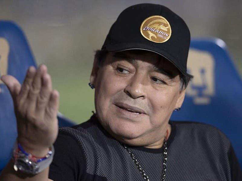 La foto de Maradona que derivó en una demanda de su exesposa