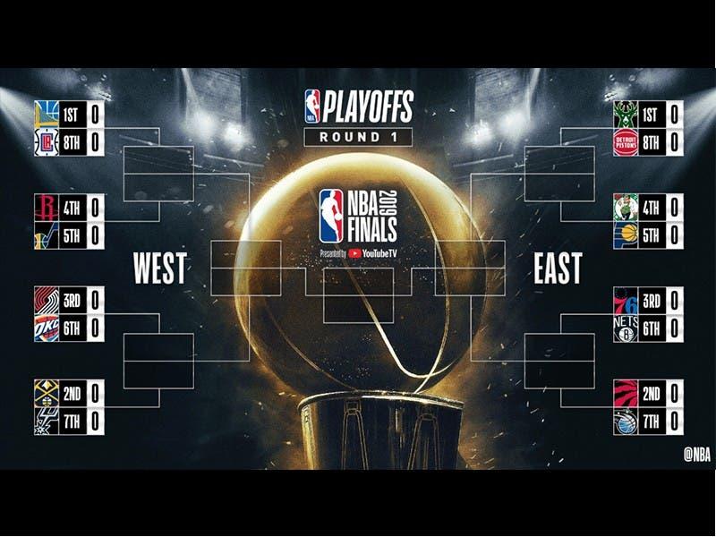 NBA: Definidos los enfrentamientos de Playoffs 2019