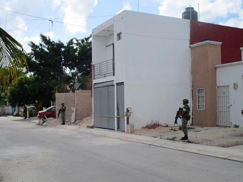 Catean presuntos narcolaboratorios en Cancún